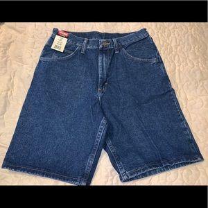 💥New Wrangler Men's Jean Shorts Relaxed 30